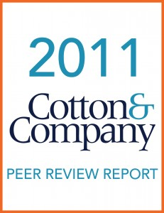 2011 Cotton & Company Peer Review Report