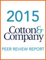 2015 Cotton & Company Peer Review Report