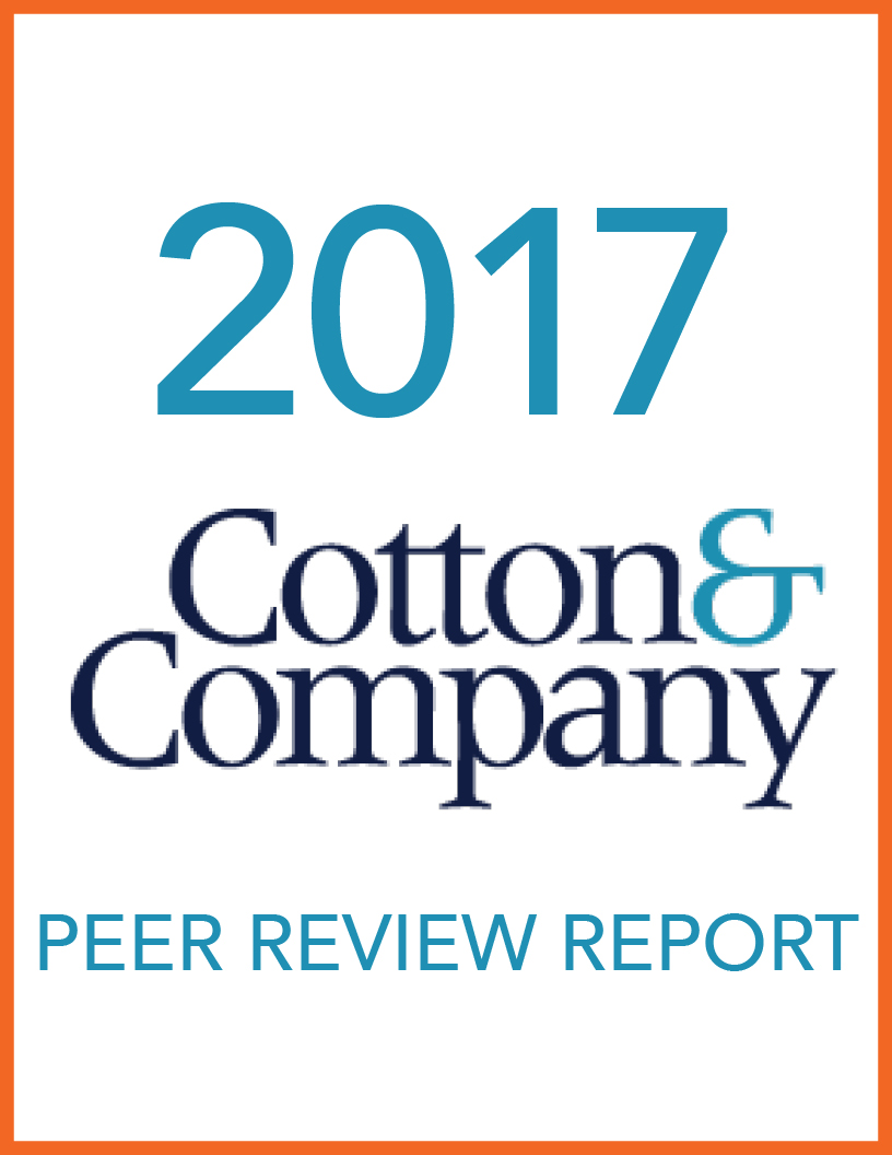 2017 Cotton & Company Peer Review Report