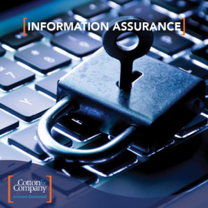 Read Our Information Assurance Brochure!