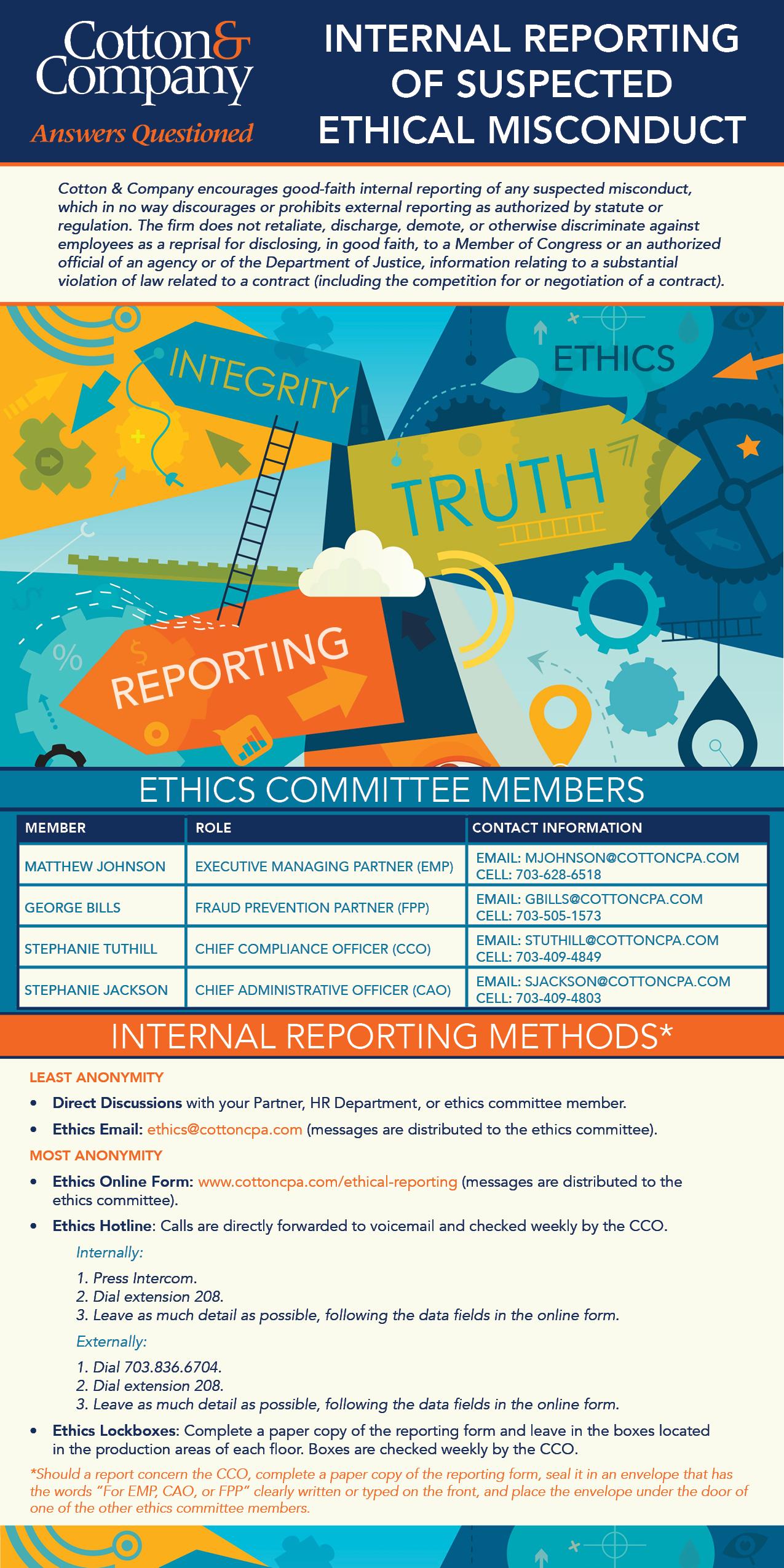 Internal Reporting