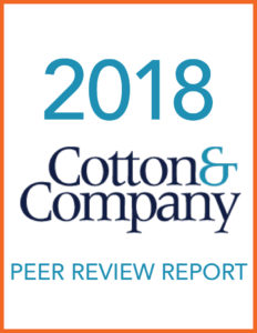2018 Cotton & Company Peer Review Report
