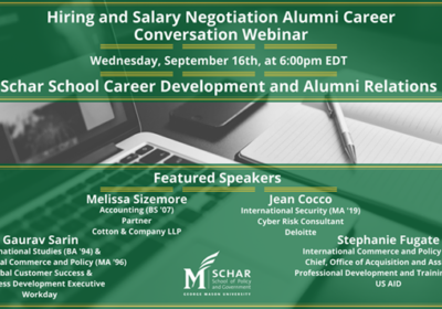 Hiring and Salary Negotiation Alumni Career Conversation Webinar