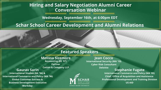 Hiring and Salary Negotiation Alumni Career Conversation Webinar