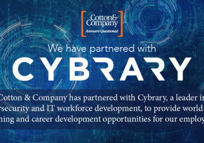 Cotton & Company has partnered with Cybrary