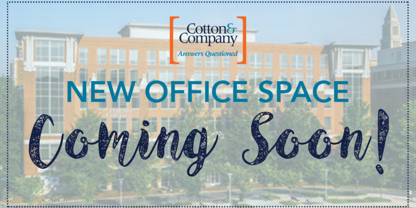 New Office Space Coming Soon!